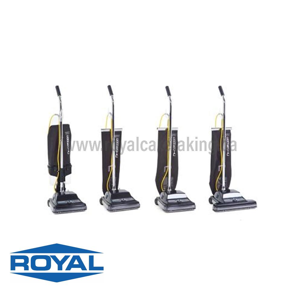 RELIAVAC® Single Motor Upright Vacuums 12/ 12DC/ 12HP/ 16 HHP