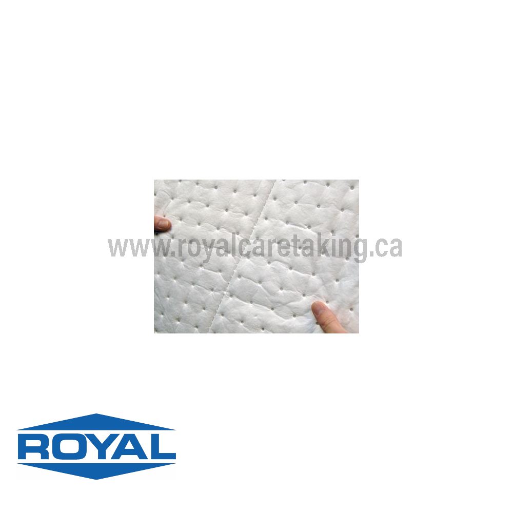 Absorbent Pads - Oil Only White