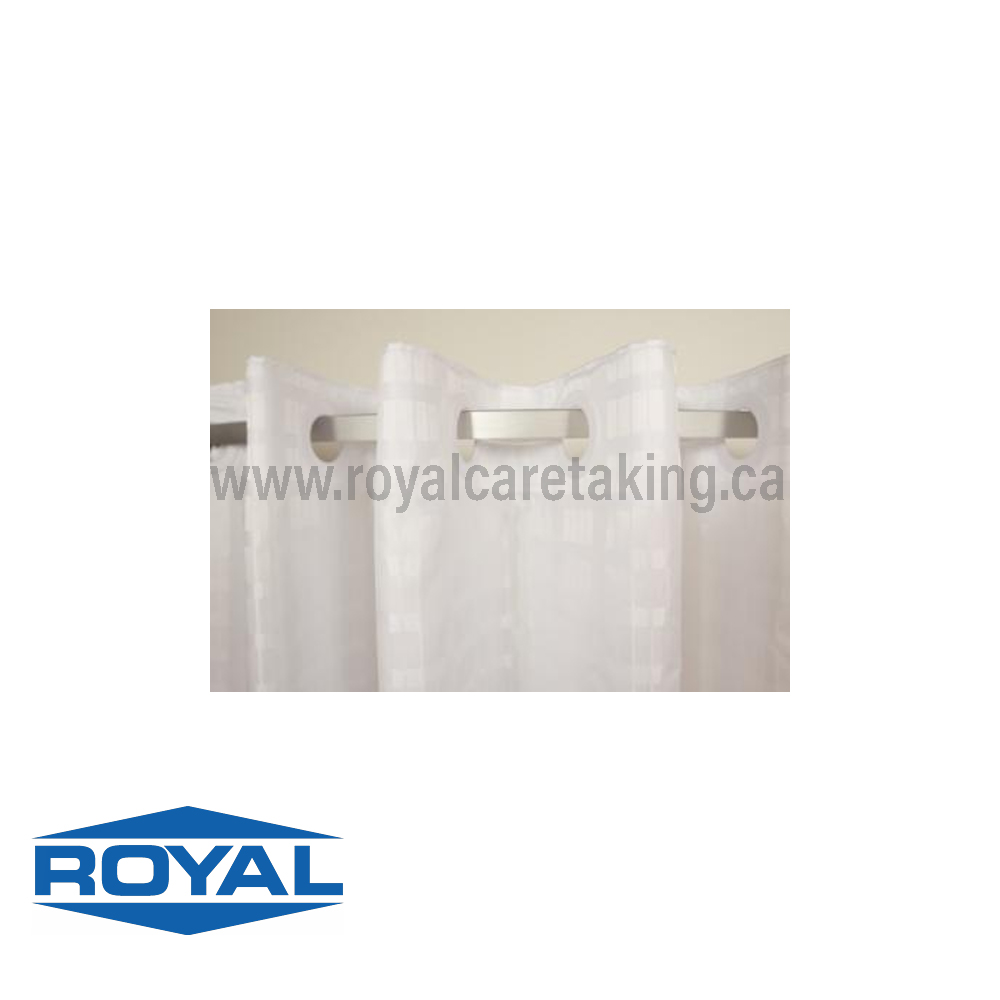 Hook-Free Shower Curtains