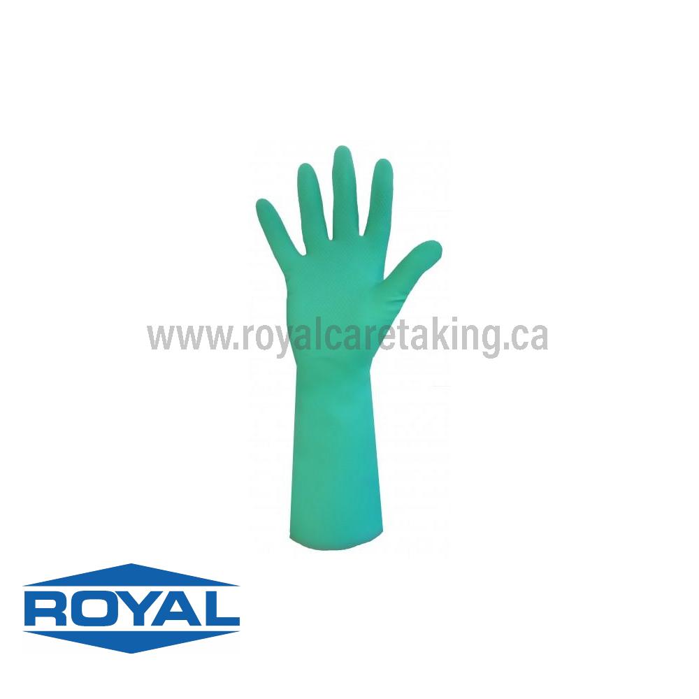 Sol-Fit Flock Lined Nitrile Gloves