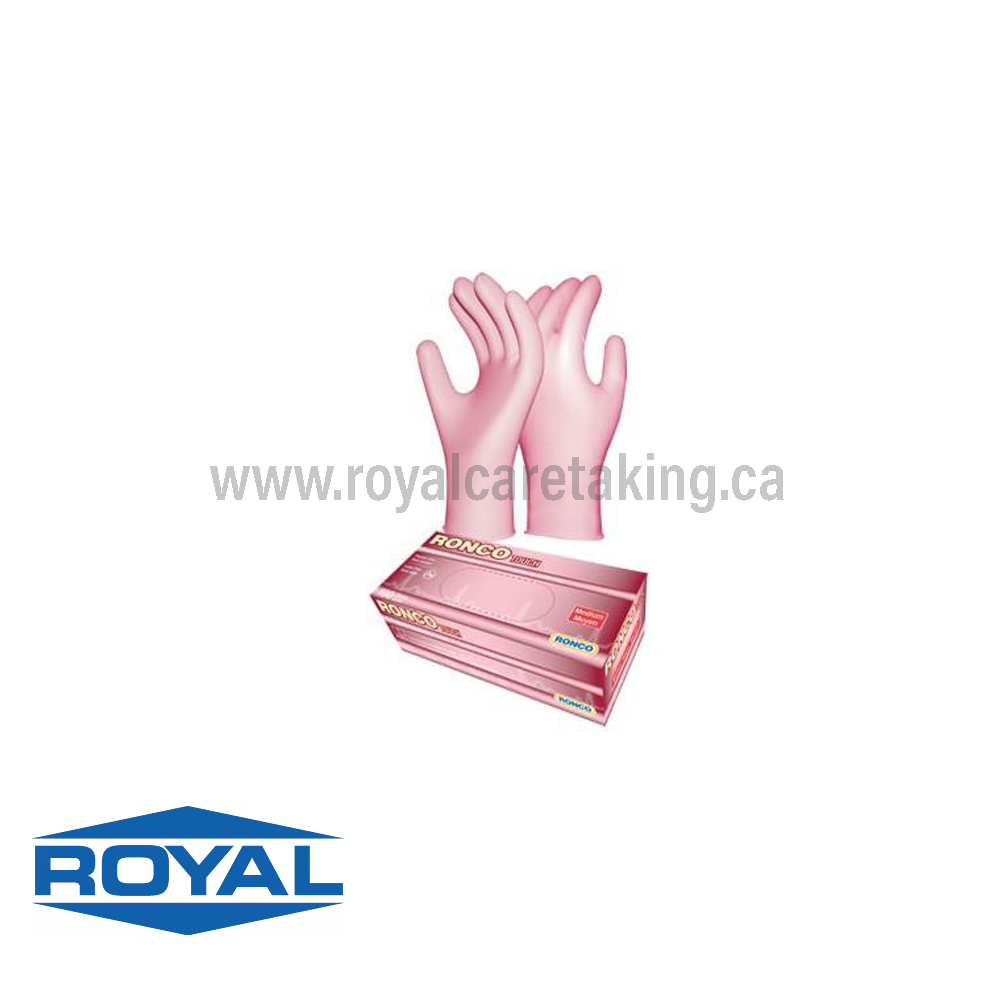 Ronco® Nitrile N2 Disposable Gloves