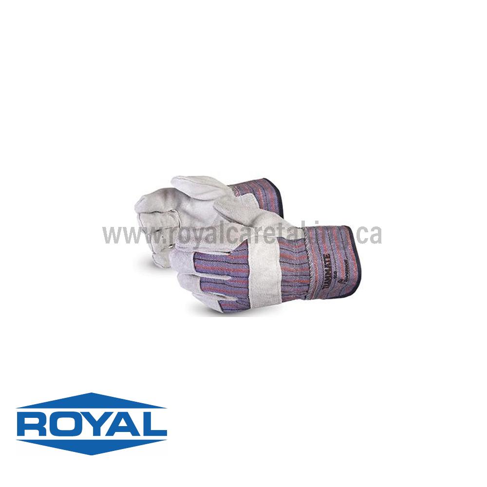 TEAMMATE® Split-leather Safety Cuff Gloves