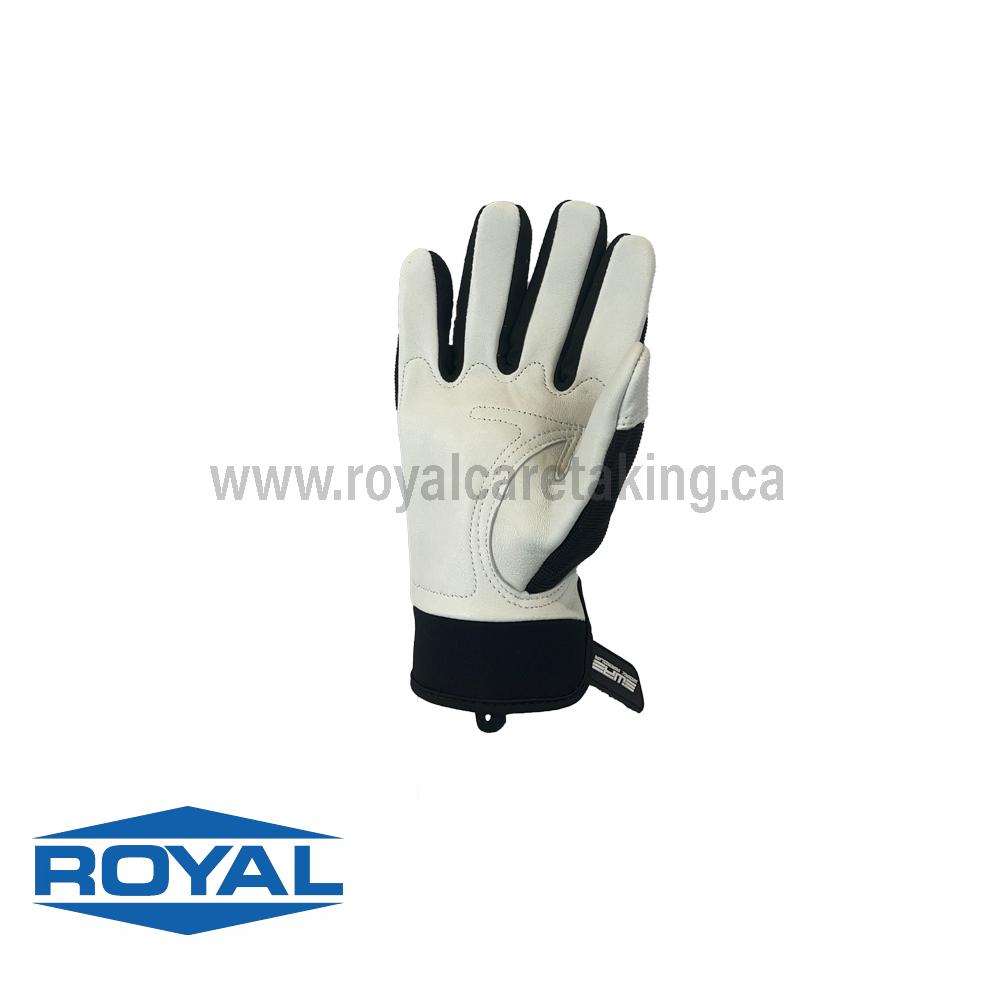 Full-Grain Goatskin Leather Work Gloves