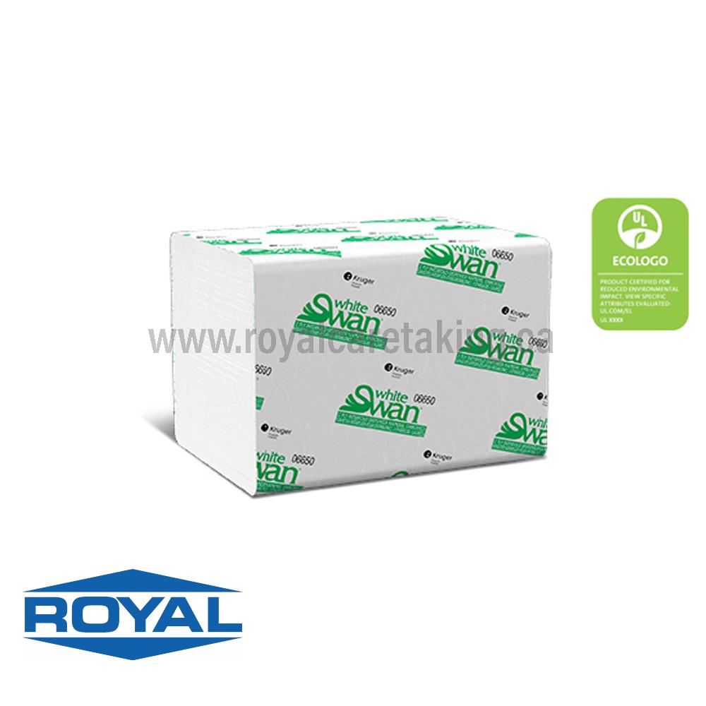 White Swan® 2-Ply Interfold Napkin - 06650