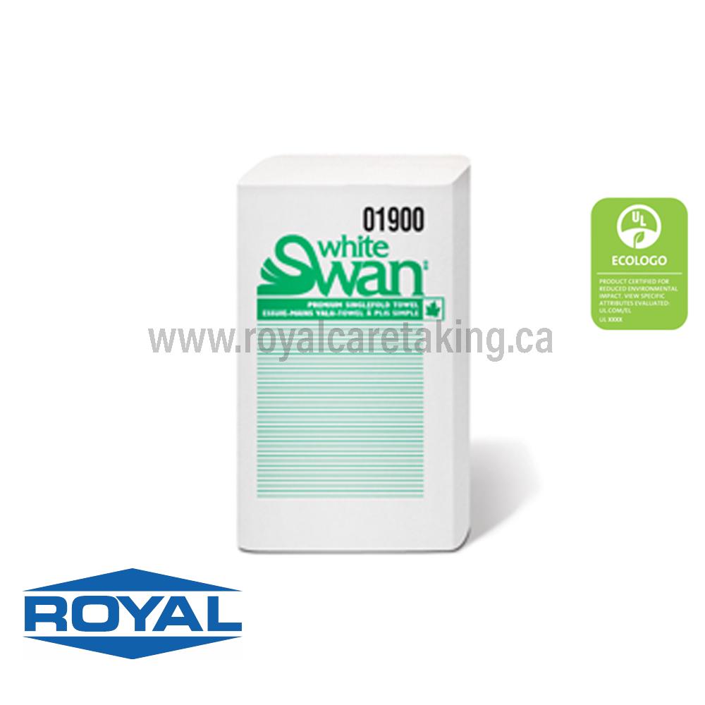 White Swan® Singlefold Towel - 01900