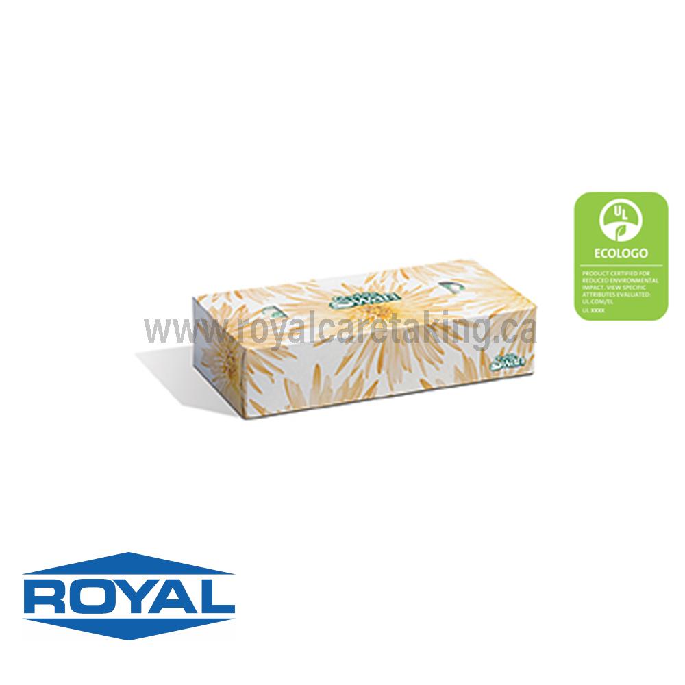 White Swan® 2-Ply Facial Tissue - 08301