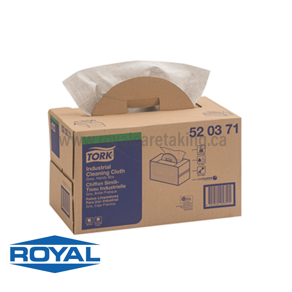 Tork® Industrial Cleaning Cloth | Handy Box - 520371