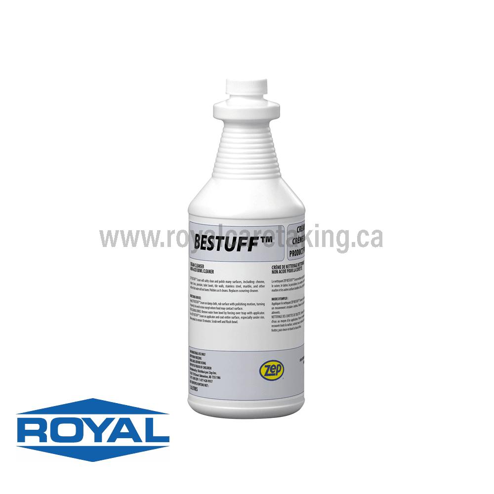 Zep® Bestuff™ Non-Acid Bowl Cleaner - Cream Cleanser
