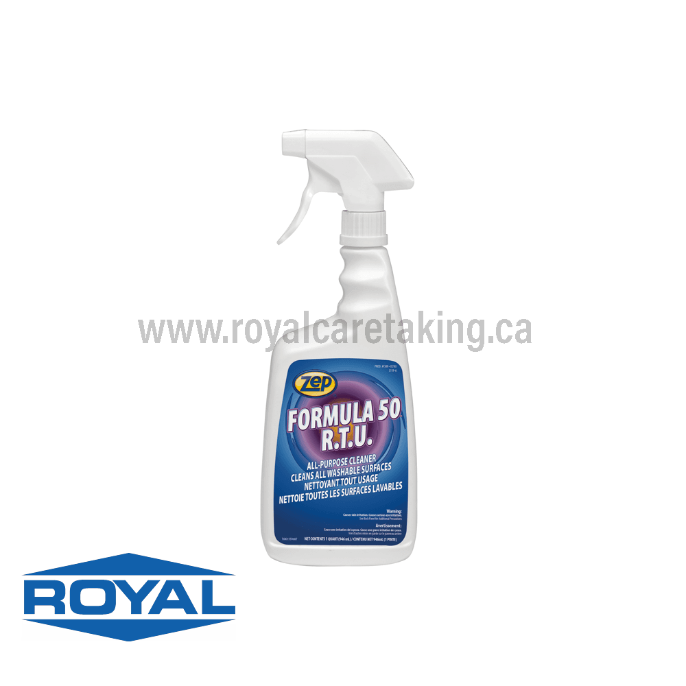 Zep® Formula 50 Ready-to-Use All Purpose Cleaner