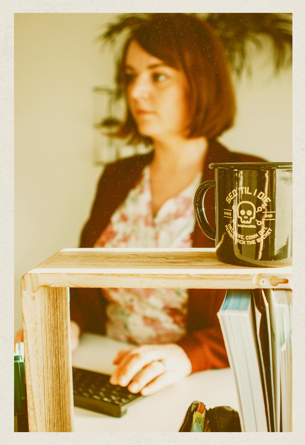 Afbeelding SEO specialist Marjolein Schollaert van YourWords