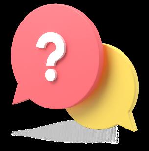 balões indicando diálogo
