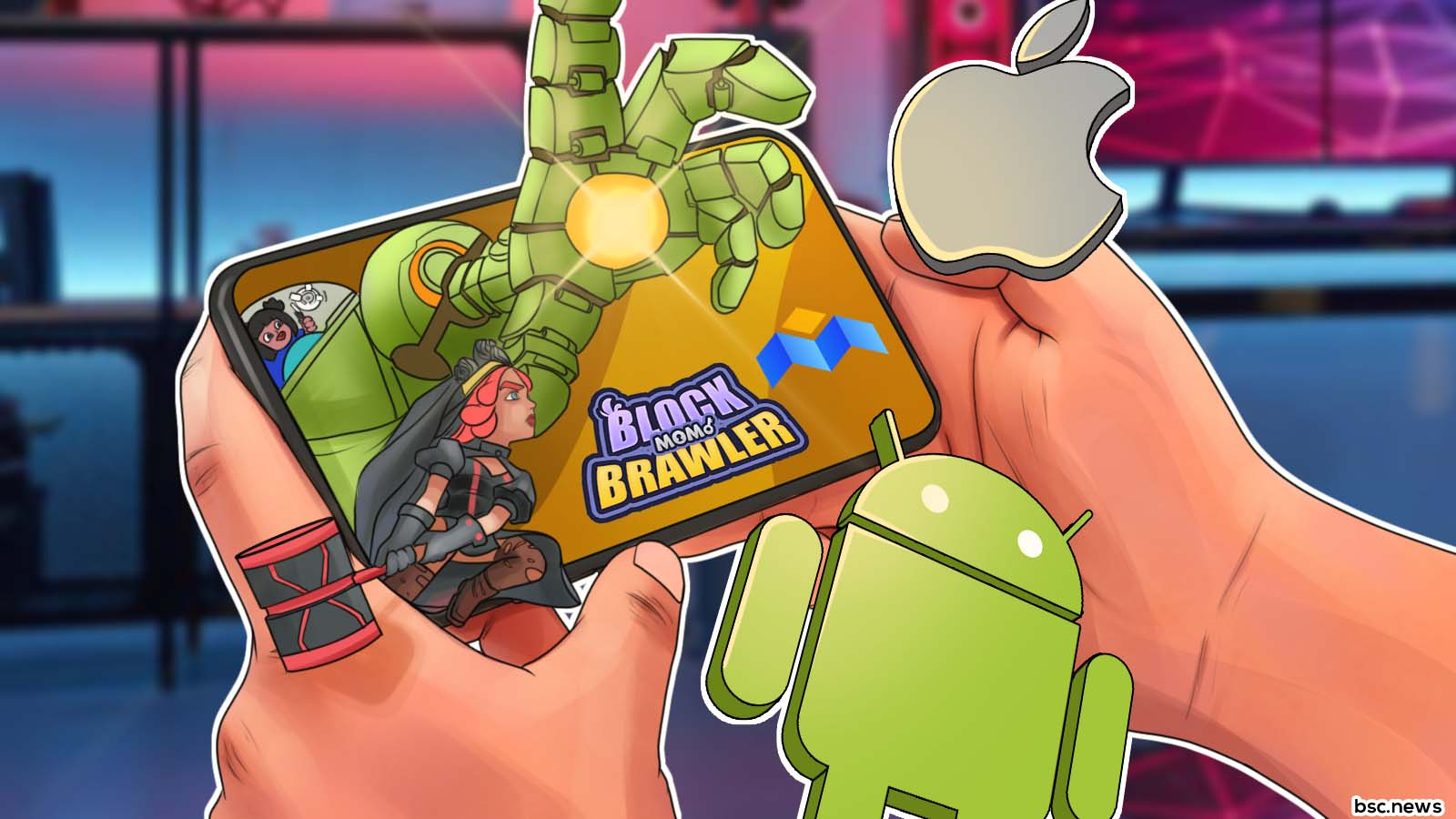 Block Brawler From MoBox Launches on Mobile for Android, iOS