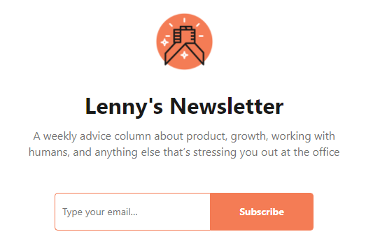 Lenny's Newsletter