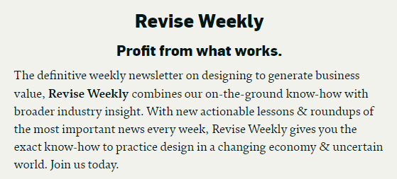 Revise Weekly