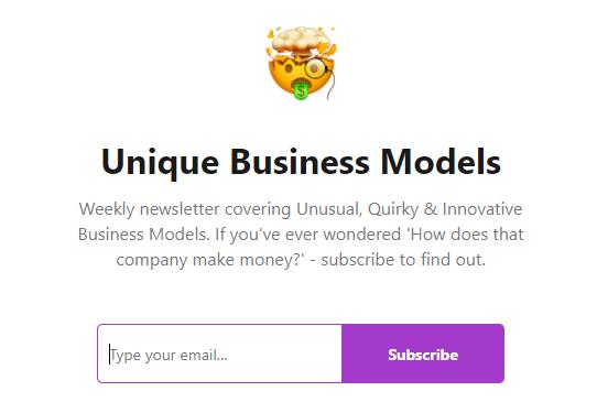 Unique Business Models