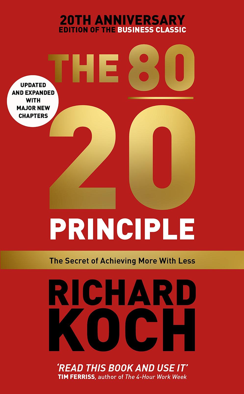 Best business audiobooks #4: The 80/20 Principle