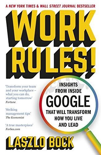 Best audio books for entrepreneurs #15: Work Rules