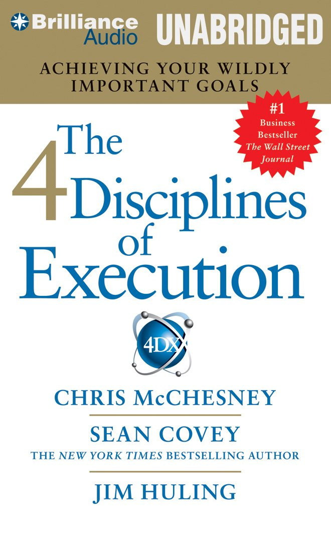 Business audio books free #22: 4 Disciplines of Execution