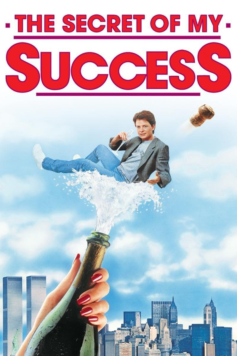 Best entrepreneur movies #24: The Secret of My Success