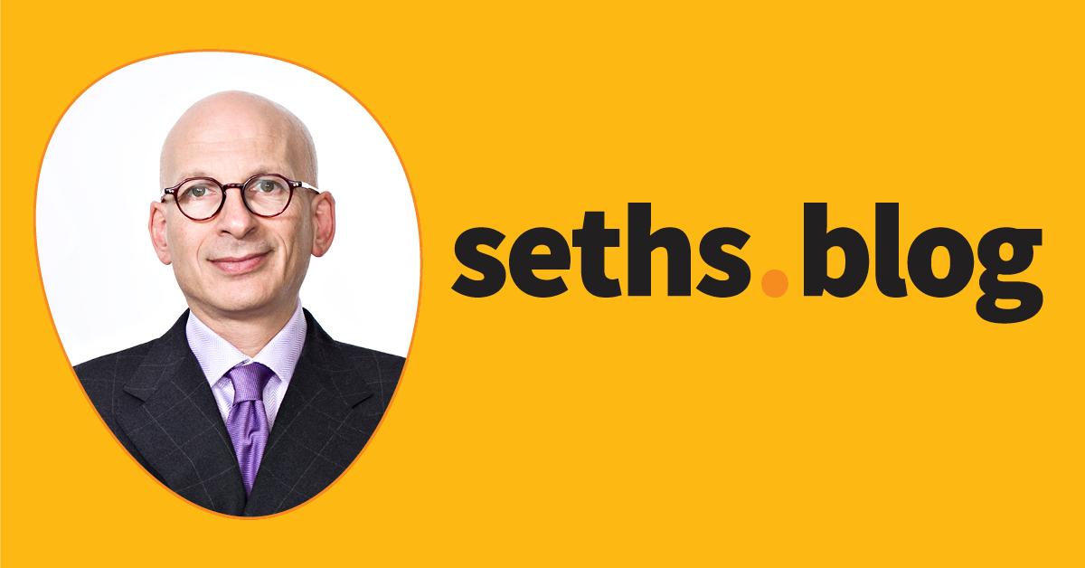 Entrepreneurship blogs #2: Seth's Blog