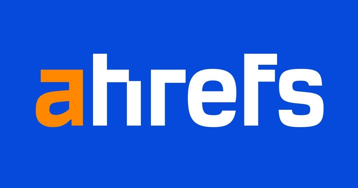 Blogs for entrepreneurs #14: Ahrefs blog
