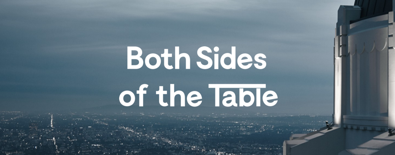 Entrepreneur blogs #24: Both Sides of the Table