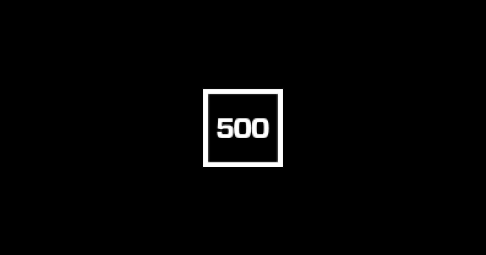 Blogs for entrepreneurs #26: 500.co
