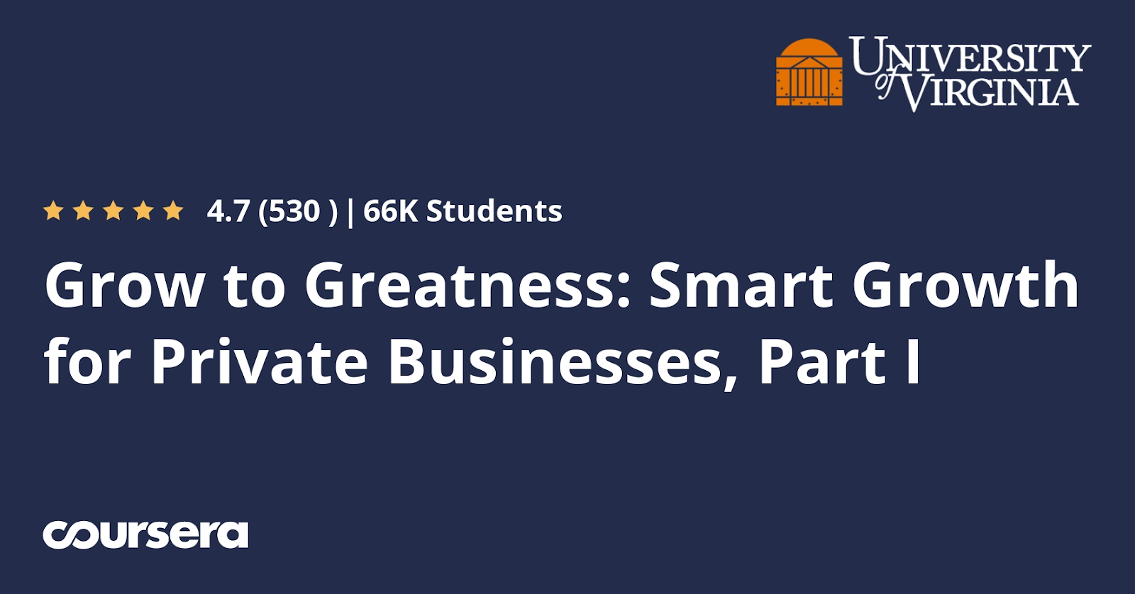 Online courses for entrepreneurs #19: Grow To Greatness