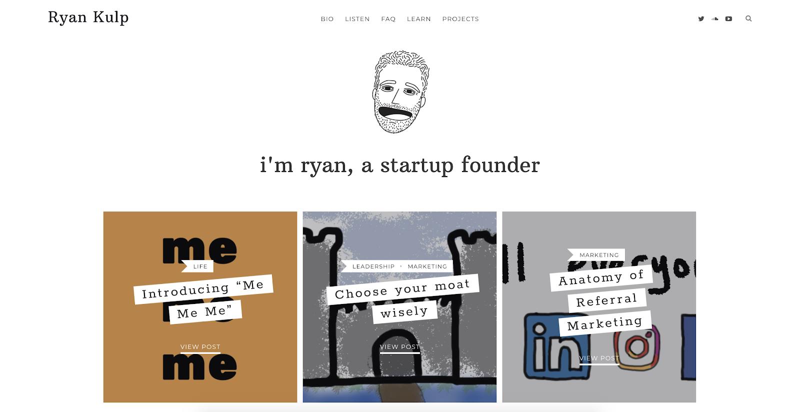 Ryan Kulp's Website