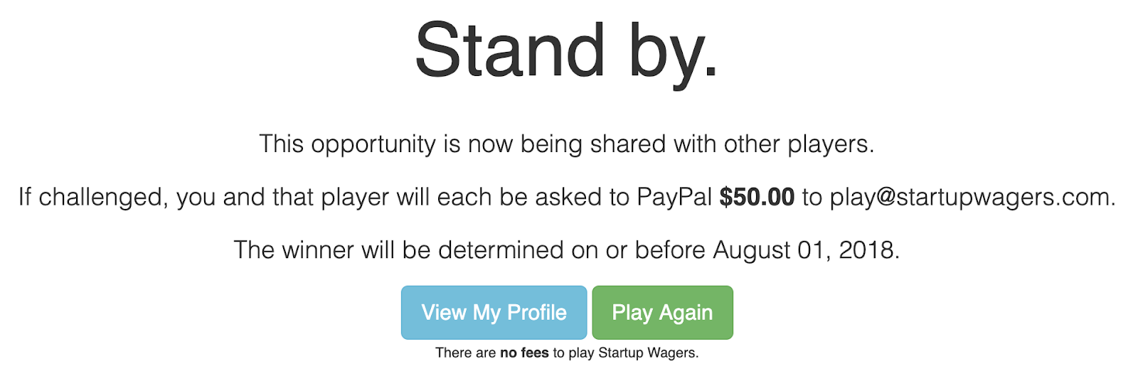 Startup Waggers - Third Step