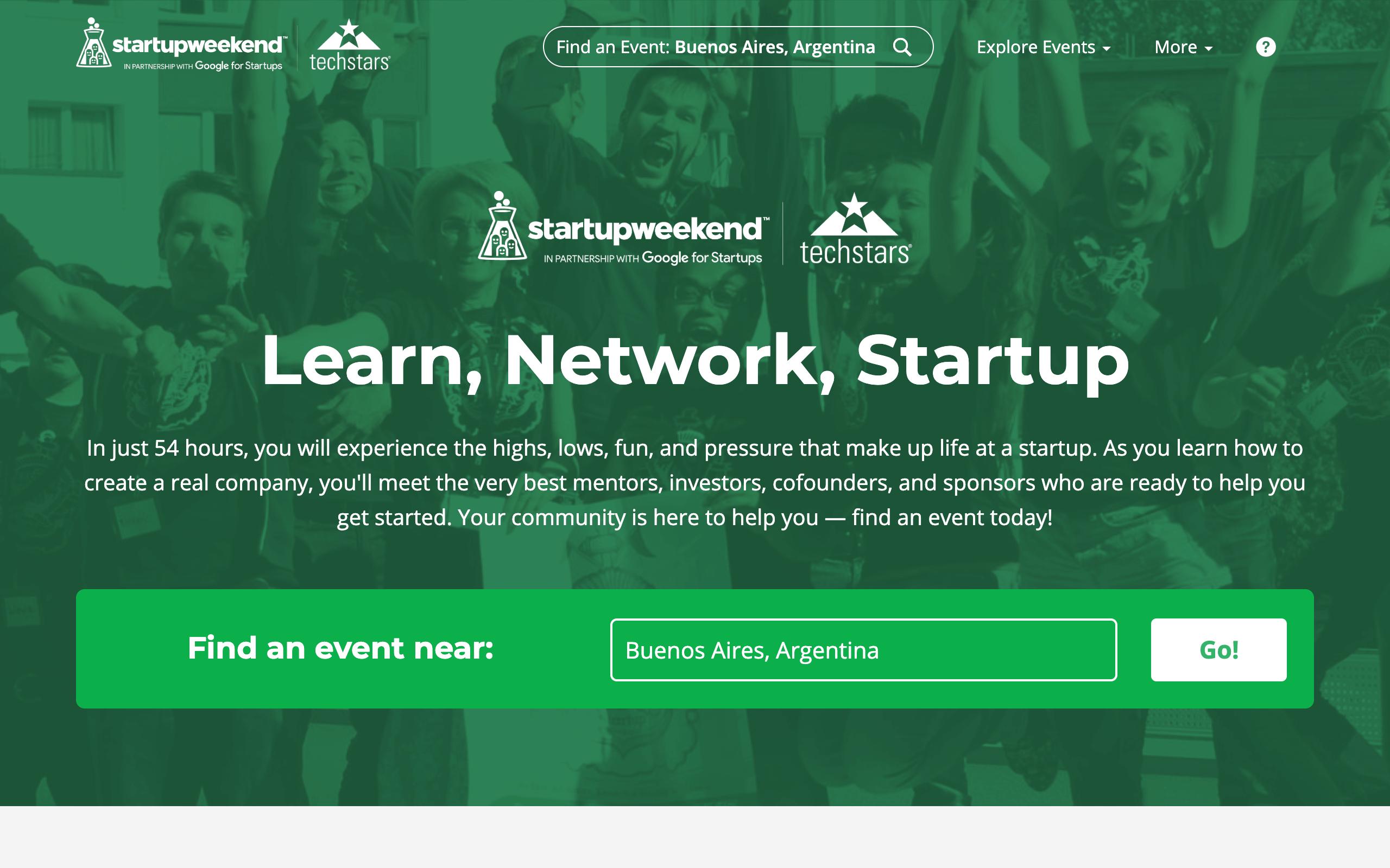 Startup Advisors - StartupWeekend