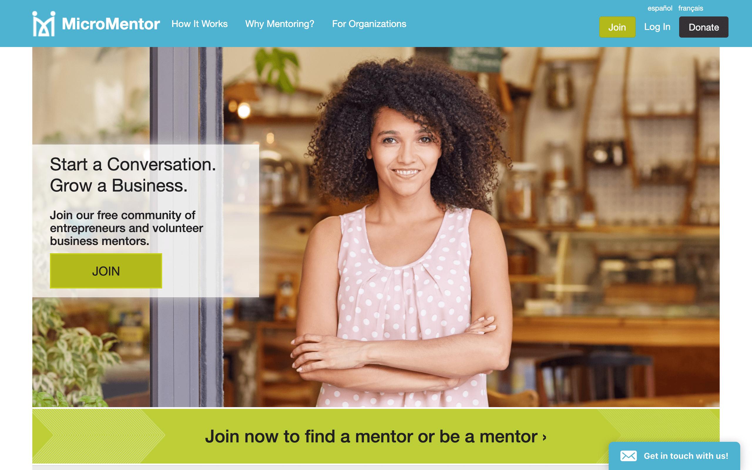 Startup Advisors - MicroMentor
