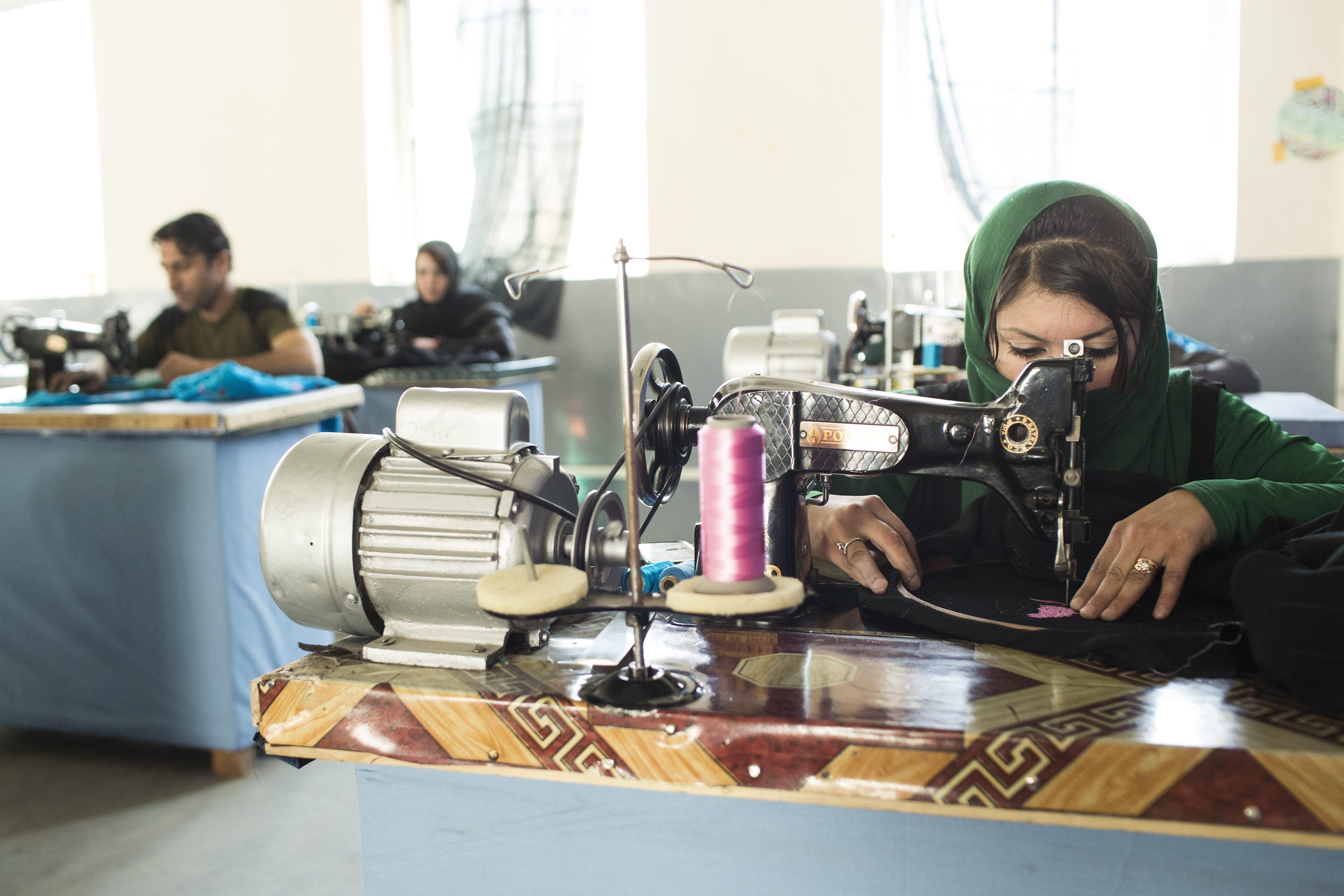 Combat Flip Flops Afghan Factory Working