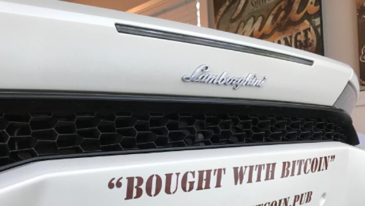 Phez Bitcoin Lamborghini