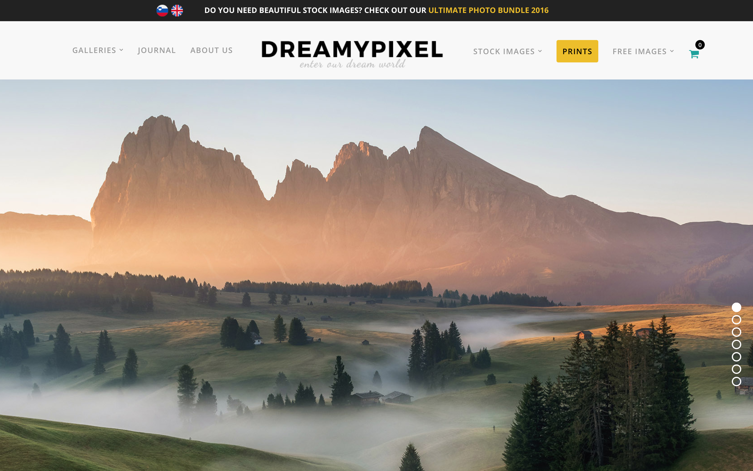 DreamyPixel Website