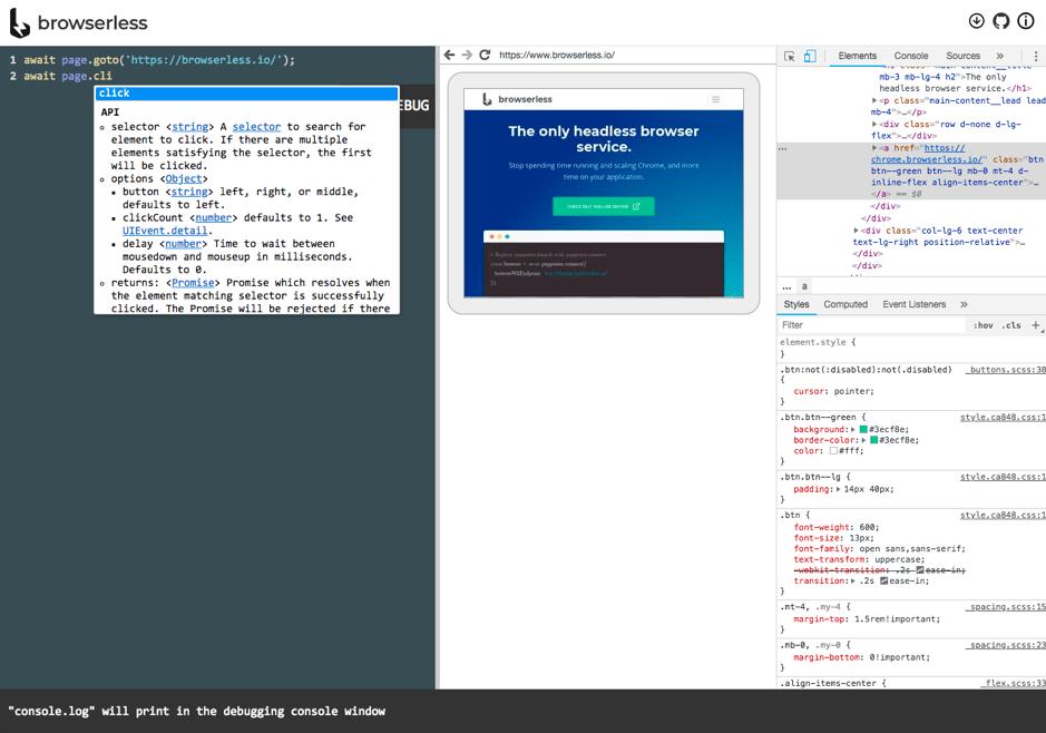 Browserless Code