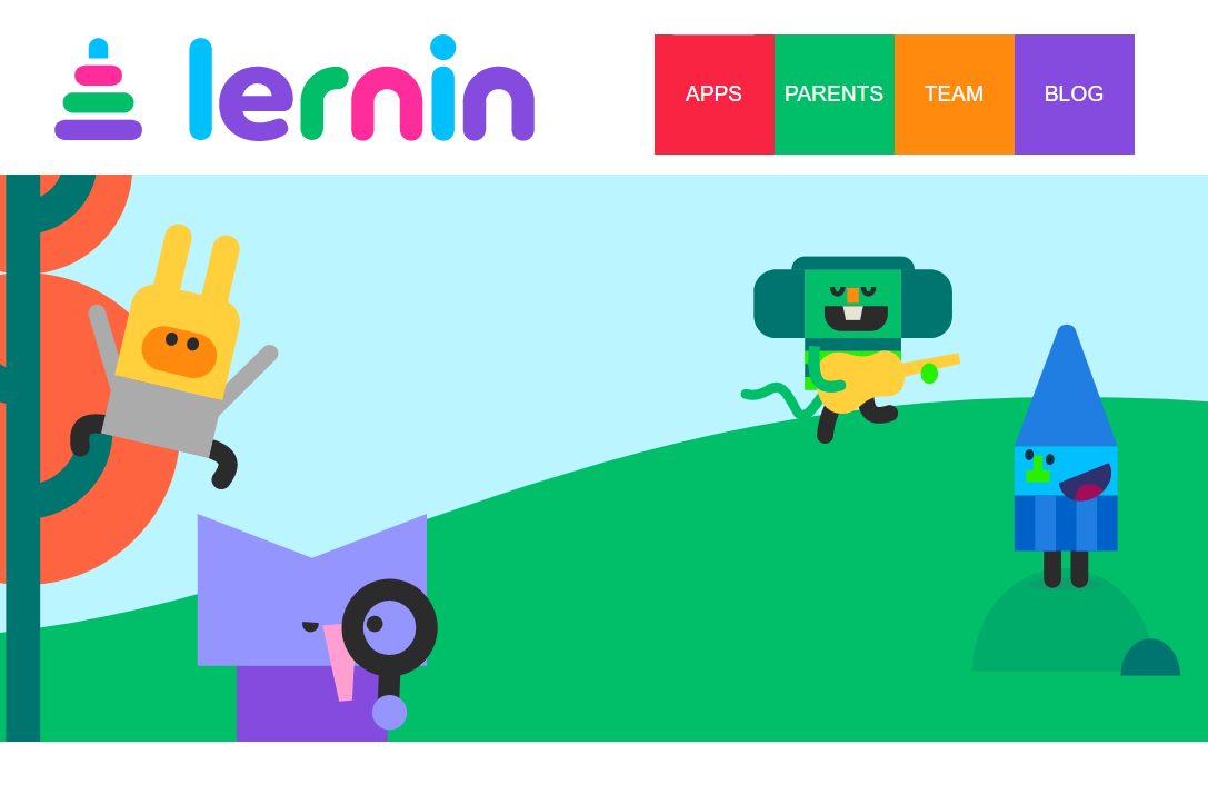 Lernin New Homepage