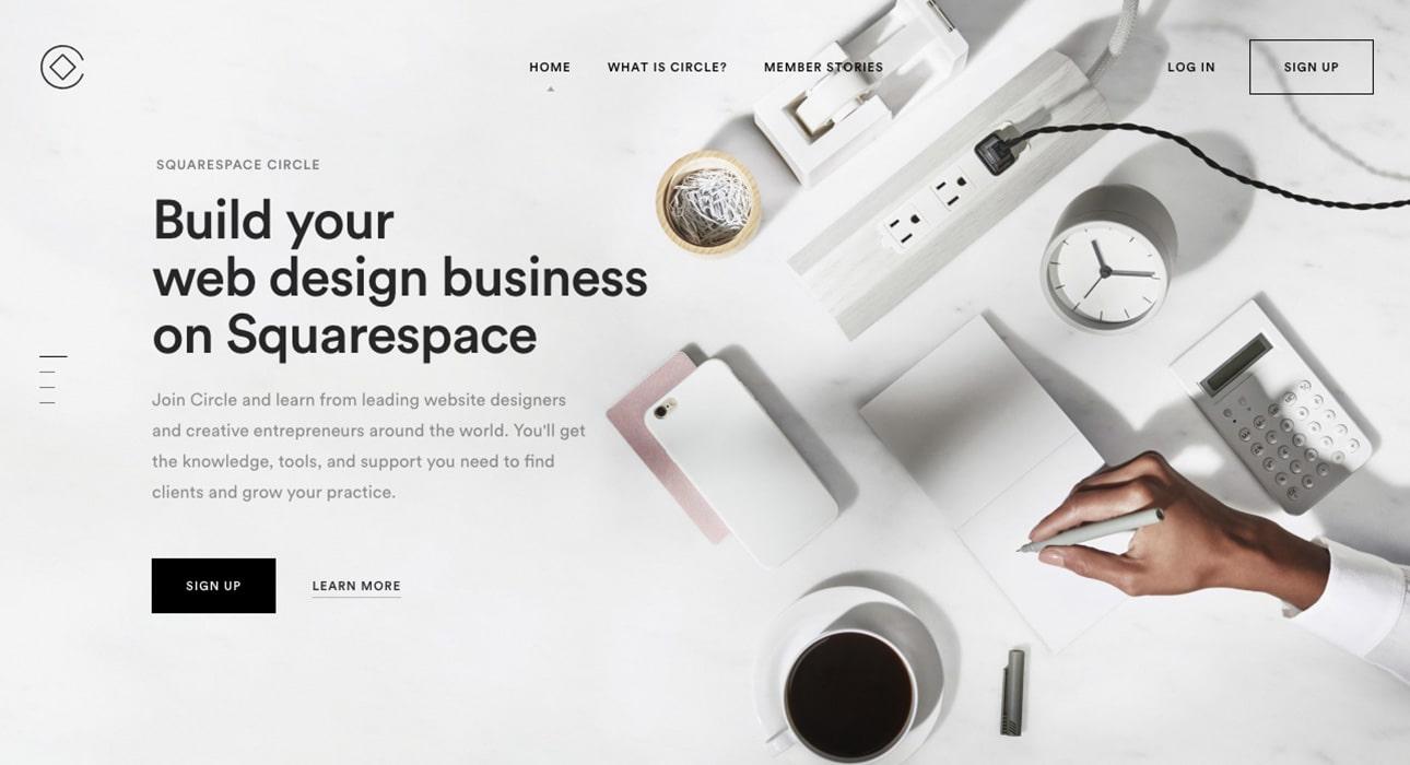 Squarespace Landing Page