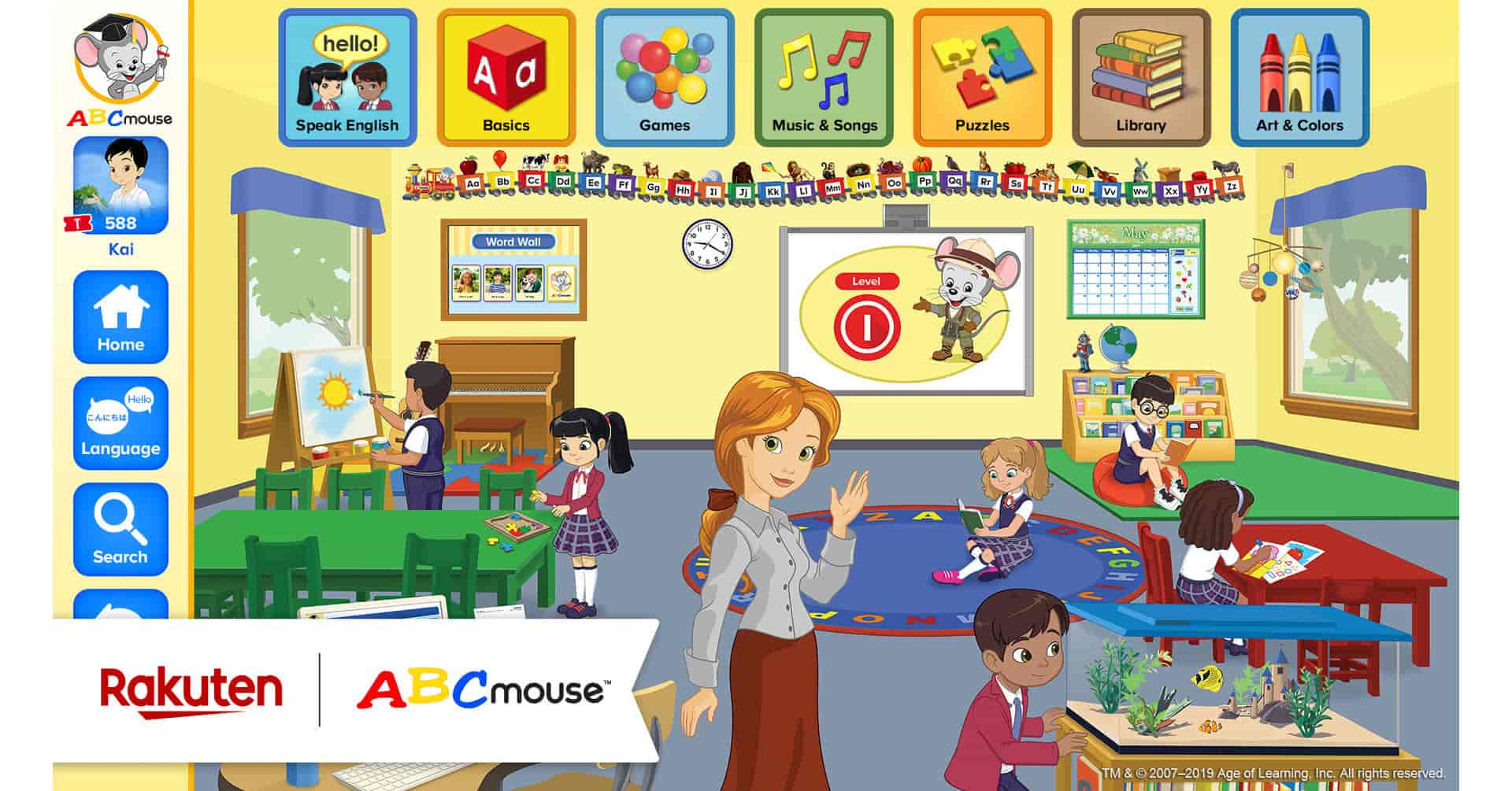 Age of Learning ABC Mouse