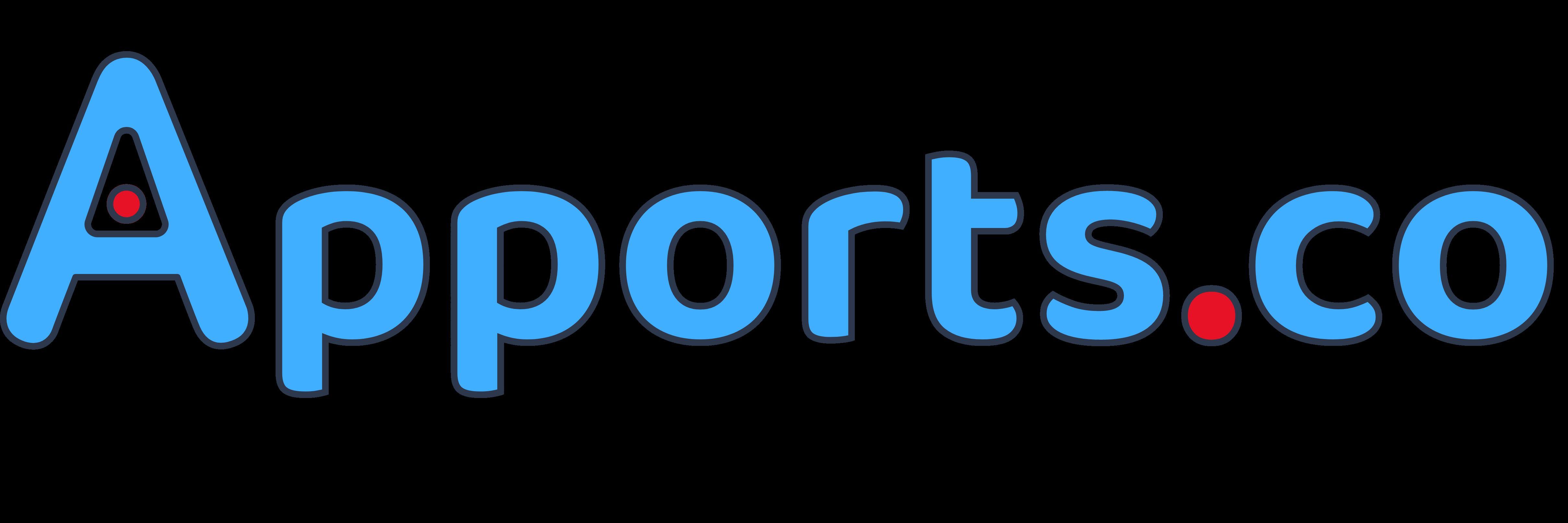 Apports.co : logo écrit