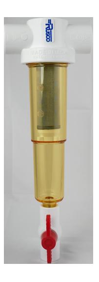 "1"" Chemical Resistant Sediment Trapper Filter"