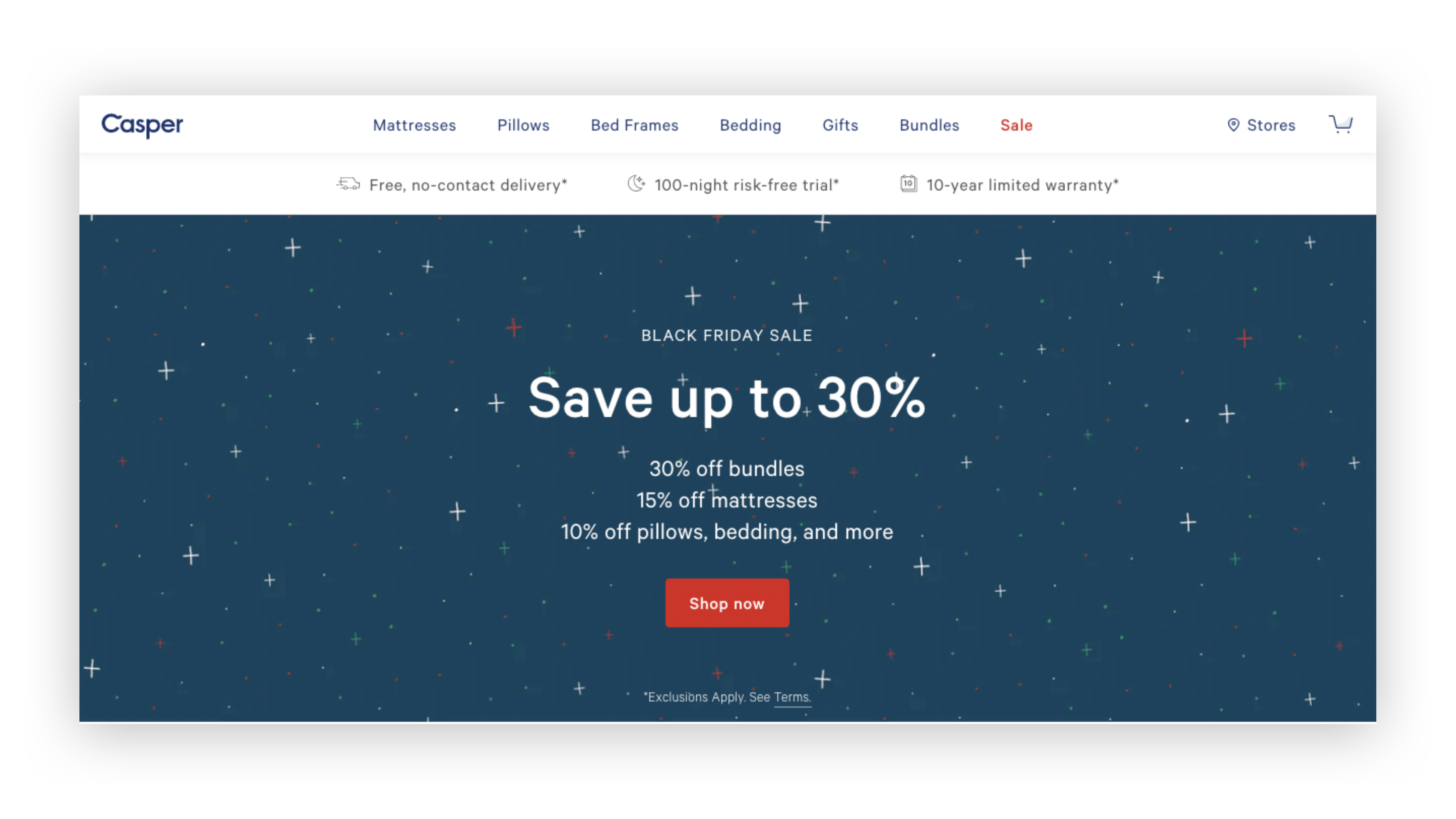 Digital agency on DTC strategy: Casper introduces incentivized pricing on their native website.