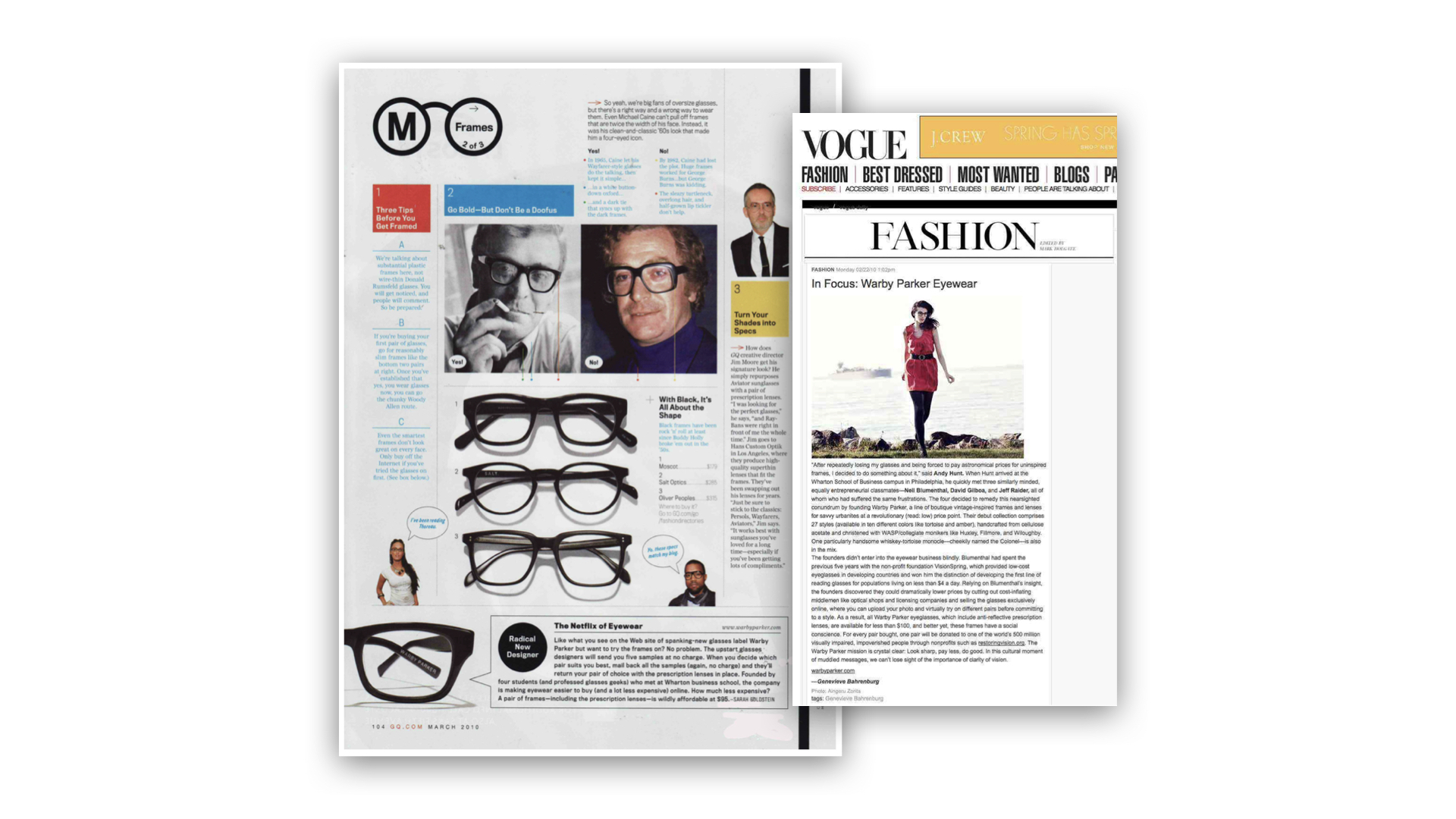 G & Co. is a DTC marketing agency: Warby Parker's GQ and Vogue features catapulted the eyewear brand into popularity