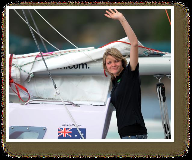 Jessica Watson, 16, Sets Sail Around the World