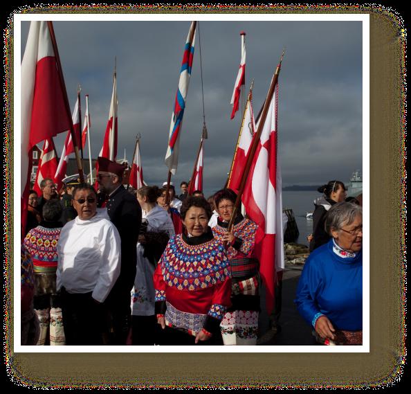 Greenland gains self-rule