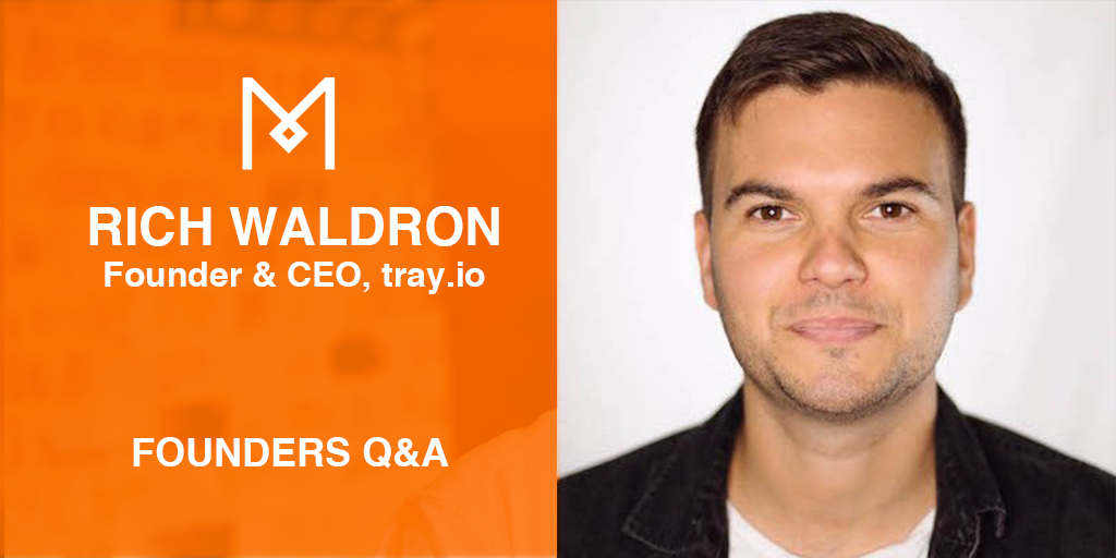 Q and A with Rich Waldron, CEO of tray.io