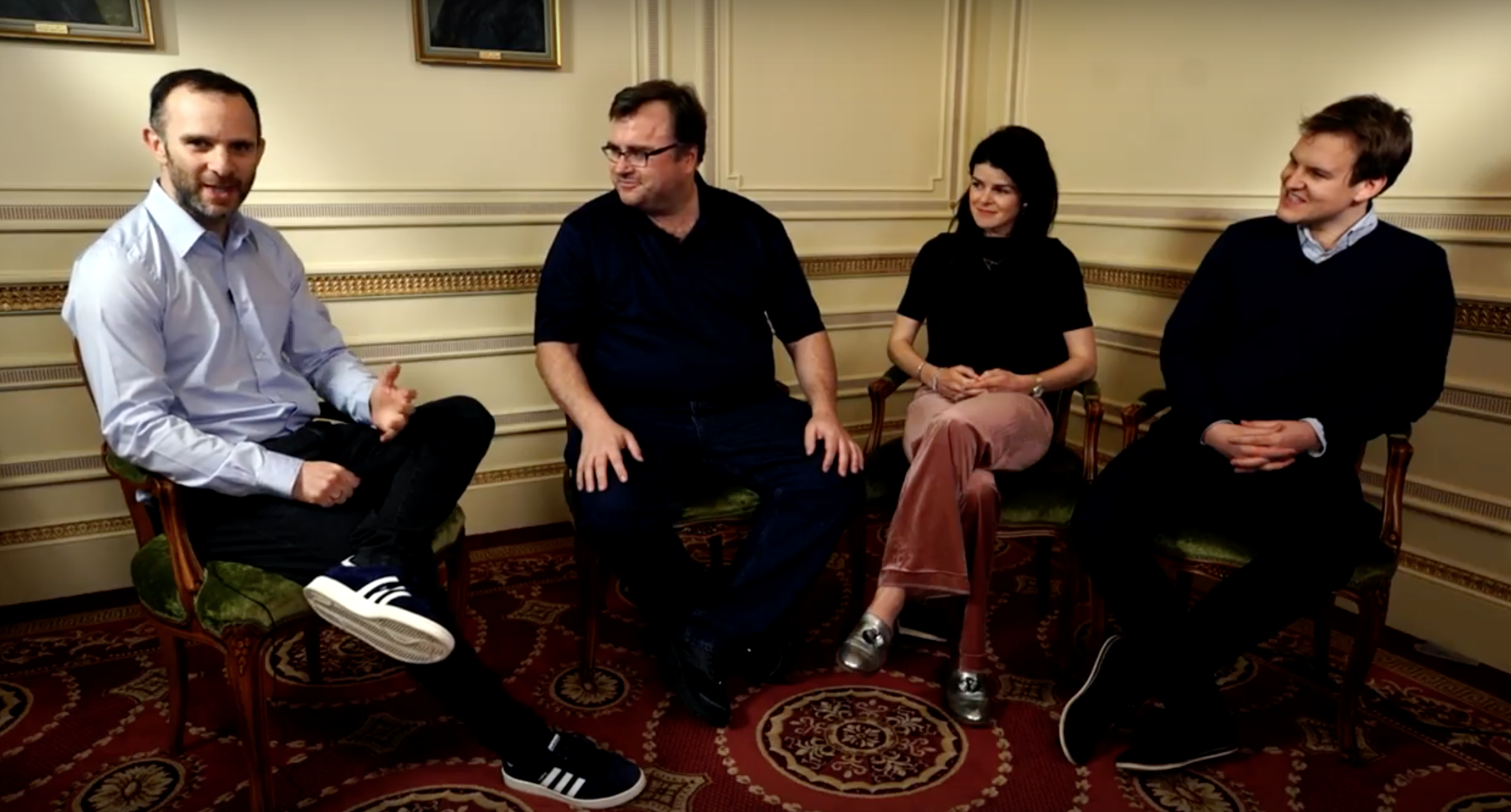 Mosaic Ventures and Entrepreneur First (EF) in conversation with Reid Hoffman