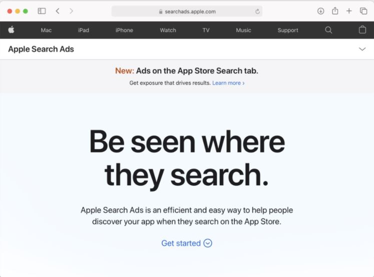 Can Apple change ads?