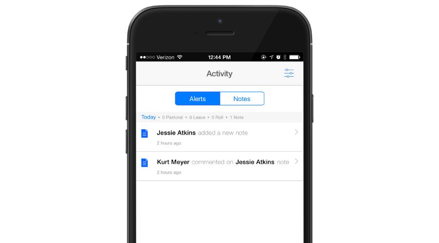 Activity-alerts
