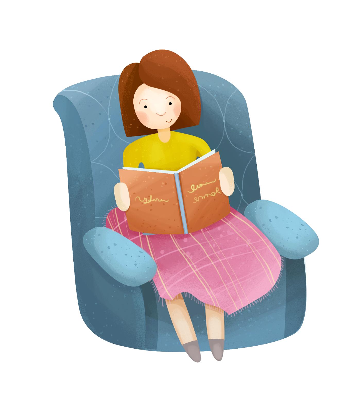 boarding housemistress reading